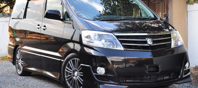 2008 (March) Toyota Alphard (ANH10) AS Platina Selection 2400cc auto