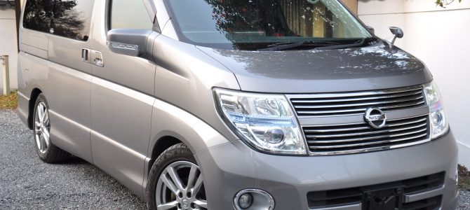 2009 (March) Nissan Elgrand (ME51) Highway Star 4WD Black Leather Edition 2500cc auto