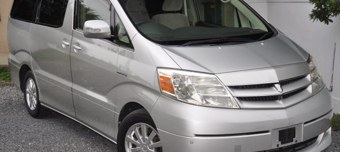 2005 (March) Toyota Alphard Hybrid (ATH10) G Edition with disabled access 2400cc auto