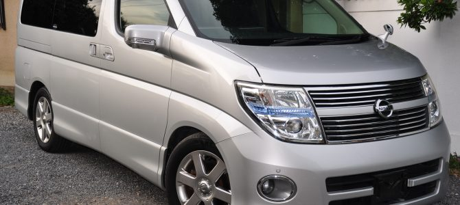 2008 (April) Nissan Elgrand (E51) Highway Star 3500cc auto