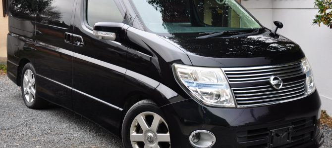 2009 (Sept) Nissan Elgrand (E51) Highway Star 3500cc auto