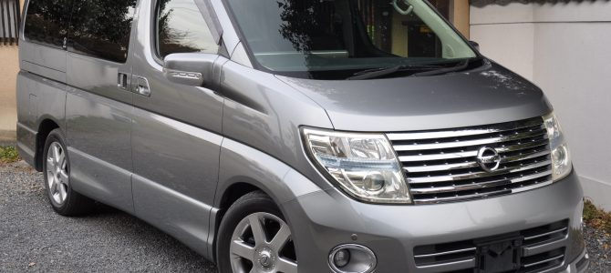 2005 (Sept) Nissan Elgrand (E51) Highway Star 3500cc auto