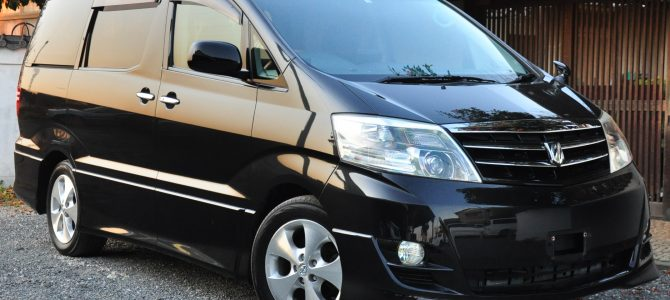 2008 (March) Toyota Alphard (MNH10) MS Platinum Selection 3000cc auto