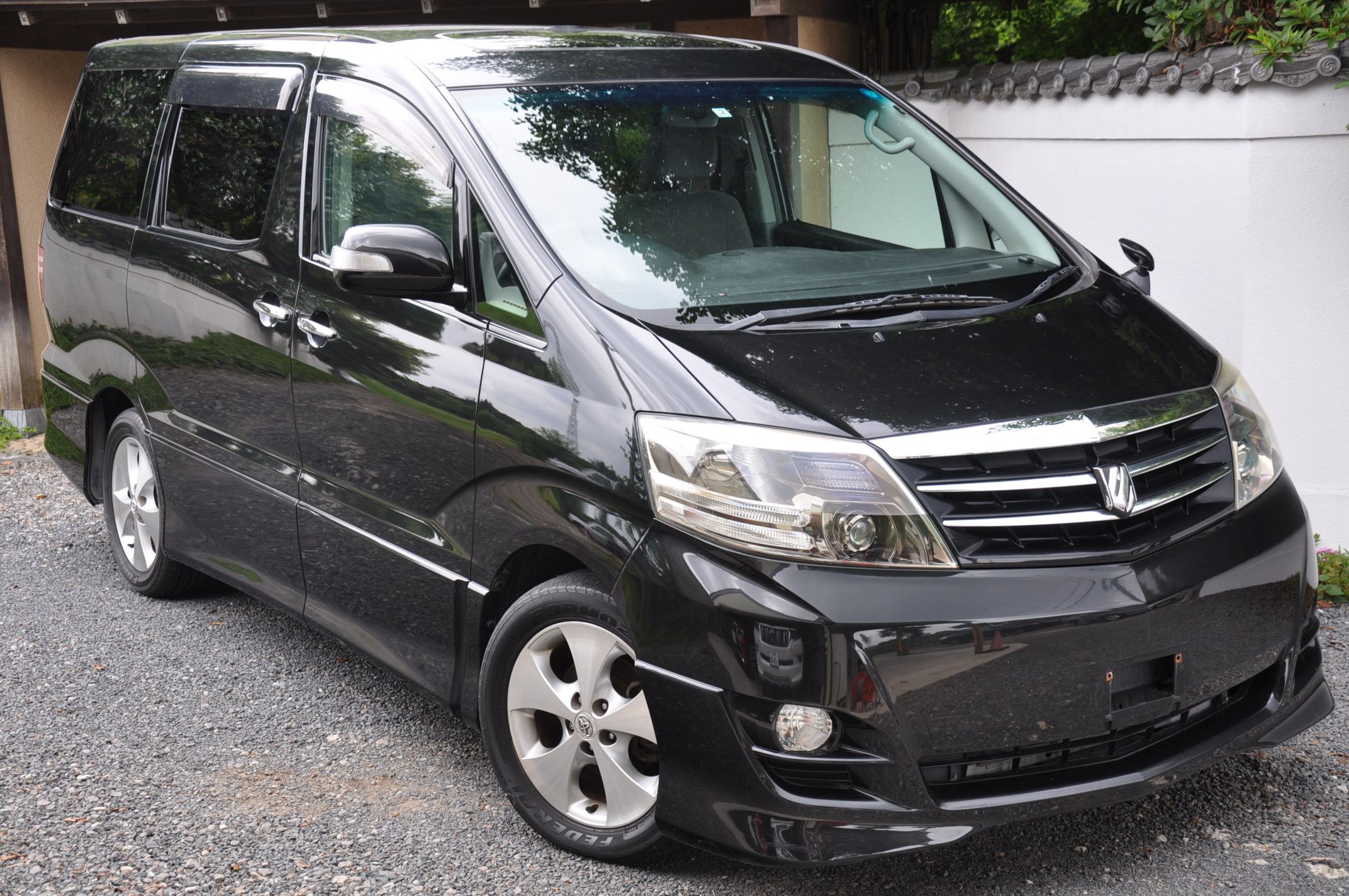 2006 (Sept) Toyota Alphard (MNH10) MS Platinum Selection 3000cc auto
