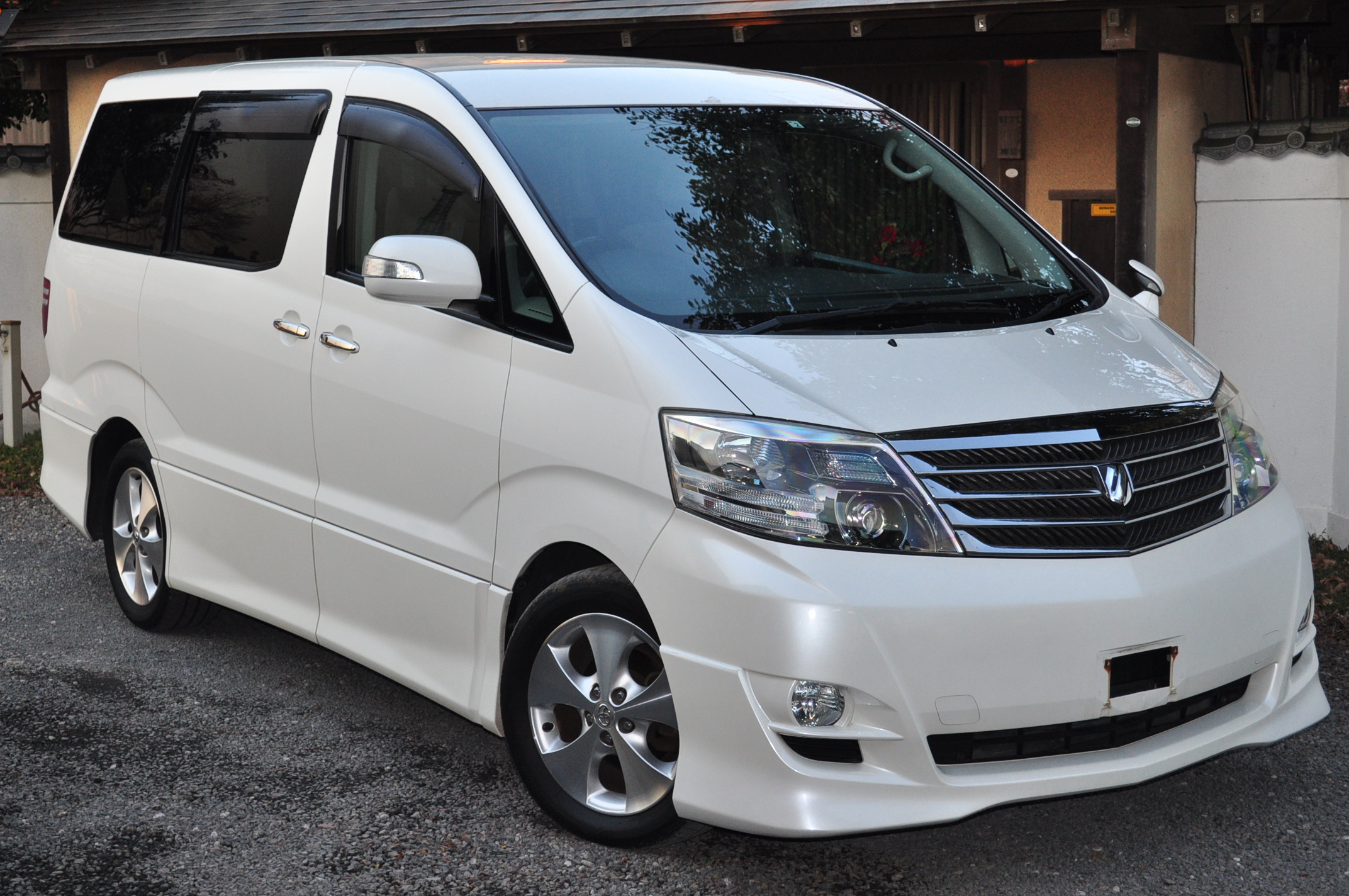 2006 (Feb) Toyota Alphard (ANH10) AS Limited 2400cc auto
