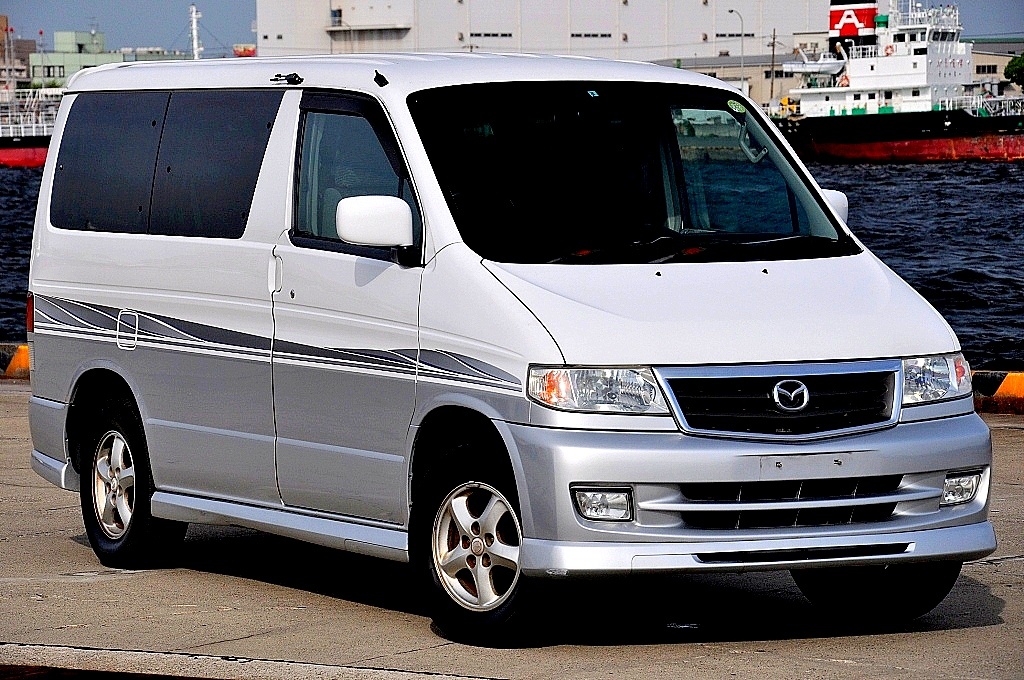 2001 (Feb) Mazda Bongo tintop (SG5W) Series IV 2500cc auto - Spectrum Import UK