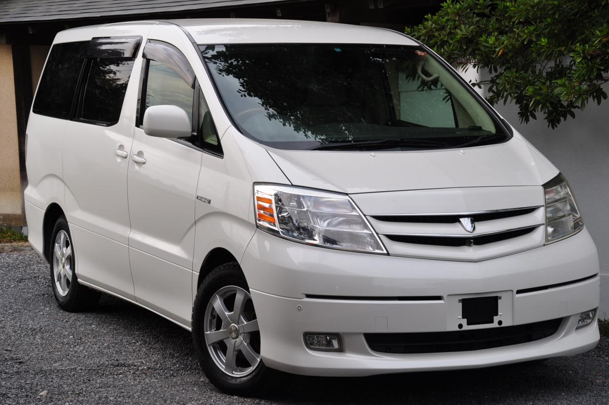 Toyota Alphard Pearl - Spectrum Imports UK - Japanese Auction Cars Direct